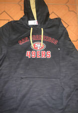 NFL Team Apparel Majestic San Francisco 49ers Hooded Sweatshirt New Mens X-LARGE