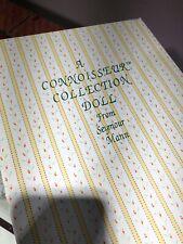 A Connoisseur Collection Porcelain Doll Handpainted By Seymour Mann Signature