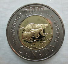 2000 CANADA TOONIE PATH OF KNOWLEDGE PROOF-LIKE TWO DOLLAR COIN - A