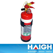 HAIGH 1KG A:B:E EXTINGUISHER FOR BOAT / RACE CAR / HOME RECHARGEABLE FW3