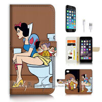 ( For iPhone 7 ) Wallet Case Cover P3310 Snow White