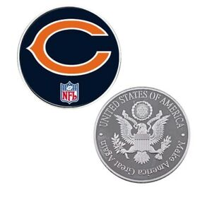 Nfl Coin Us Football Team Chicago Bears Challenge Coins Collection Souvenir