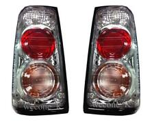 CLEAR DONUTS REAR TAILLIGHTS LAMP FOR ISUZU TFR PICKUP RODEO 1991 - 1997