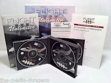 Flight Unlimited III 1999 Looking Glass Studios Boxed 3-disc PC Game