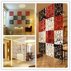 1PC Plastic Hanging Screen Partition Room Divider Wall Sticker Art Home Decor BO