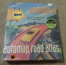 Broderbund AutoMap Road Atlas 3.0 for DOS - NEW