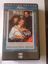 VHS ~ BROADCAST NEWS ~ 1987 ~ WILLIAM HURT ~ ALBERT BROOKS ~ HOLLY HUNTER