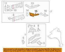 TOYOTA OEM 14-18 Yaris Fender-Susp Support Right 571070D050