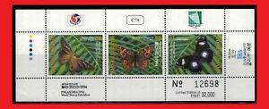 ZAYIX - 1994 Marshall Islands 587 MNH - Butterflies souvenir sheet