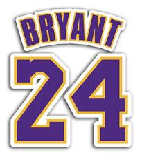 Lakers Kobe Bryant 24 Sticker Basketball Decals NBA