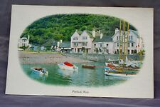 Vintage Somerset Postcards Bulk Lot 18 Porlock Weir Oval View by  Colourmaster