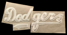 "LOS ANGELES DODGERS MLB BASEBALL VINTAGE 3 PIECE 15.5"" JERSEY PATCH SET"