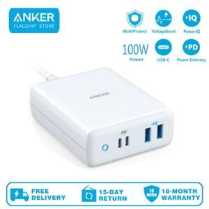 Anker PowerPort Atom PD 4 Type C Charging Station Power Delivery 100W 4-Port
