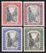 Bahamas 1921-29 Wmk Multi Script CA STAIRCASES SG111-14 MLH OG