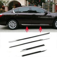 For Honda Accord 2013-2016 Stainless Steel Body Door Side Molding Sill Trim 4Pcs