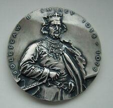 Bolesław II the Generous KING of POLAND Polish MEDAL OLSZEWSKA BRONZE MEDAL M51