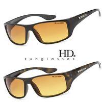X-Loop HD Vision Clarity Lens Mens Sports Sunglasses Driving Golf Matte Black