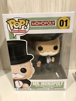 Board Games Mr Monopoly Funko Pop Vinyl
