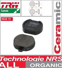 Jeu 2 Plaquette frein Métal fritté  TRW MCB79 MCB 79