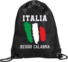 BACKPACK BAG REGGIO CALABRIA ITALY GYM HANDBAG FLAG SPORT