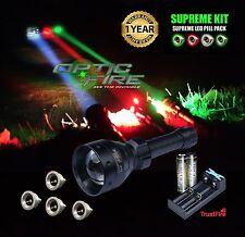 Opticfire TX67 T67 High power LED Supreme hunting torch light lamping lamp kit