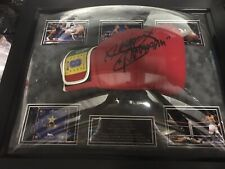 manny pacquiao signed glove Framed