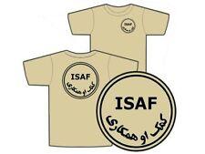"""..:: T-shirt ::.. TAN """" ISAF """" S/M/L/XL/XXL OPEX AFGHANISTAN air Félin TOE FAMAS"""