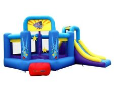 Bounceland Inflatable Bounce House Pop Star Bouncer with slide