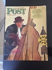 SATURDAY EVENING POST JANUARY 22 1944 ALBANY ENIGMA COMMUNIST EUROPE SCRANTON