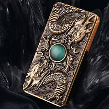 Brown USB Electronic Rechargeable Dragon Flameless Cigarette Lighter