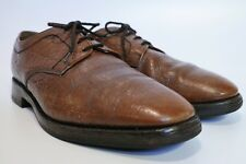 LOAKE 034T Brown Grained Derby Shoes Excellent Condition UK 6.5 EU 40 Made in UK