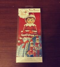 NEW Elf On The Shelf Twirling In The Snow 2 Piece Skirt Set