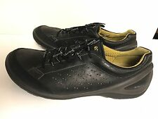 ECCO Biom Natural Motion Black Leather Athletic Shoes Size Mens EU 44 US 10.5