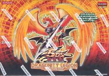 YUGIOH DRAGUNITY LEGION 1ST EDITION STRUCTURE DECK BOX BLOWOUT CARDS
