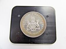 1971~Canada~Silver~One Dollar Coin~*Rainbow Toned*~Centennial~Presentation Case