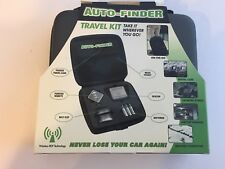 AUTO FINDER Wireless Car Tracking System Travel Kit Finder Technologies MSRP $99