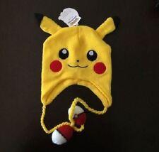 Bioworld Pokemon Go Pom Pom Pokeball Pikachu Laplander Hat Cap Beanie Brand New