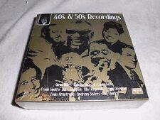 Radio Nostalgia - 40´s & 50´s Recordings-BOX = 10 CDS-OVP