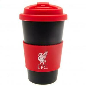 Liverpool FC Silicone Grip Travel Mug Birthday Father's Day Gift for Him
