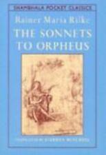 SONNETS TO ORPHEUS Shambala Pocket Classics