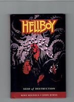 Hellboy Seeds of Destruction Hardcover Signed Mike Mignola