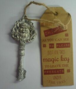SANTA CLAUS MAGIC KEY FOR THOSE WHO DON'T HAVE A CHIMNEY CHRISTMAS KEY AND TAG