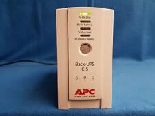 APC Back UPS CS 500, 500VA / 300W, generalüberholt, neuer CSB-Markenakku!