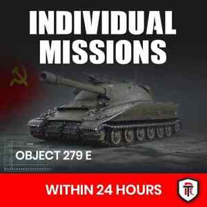 World of Tanks Obj. 279E - Obj. 260 - T55A - Chimera ( Individual Missions ) WOT