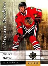 2011-12 UD Ultimate Collection #72 Jimmy Hayes