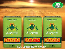 YERBA MATE - Canarias Serena - 3 Kilos - Pure Leaf - FREE Shipping!