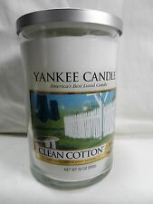 Yankee Candle Clean Cotton 22 oz Double 2 Wick Large Jar