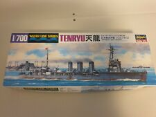 Hasegawa 1/700 Scale Model Kit WWII  Japanese Light Cruiser Tenryu