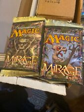 2- MTG Magic the Gathering MIRAGE Factory Sealed Booster Pack Japanese