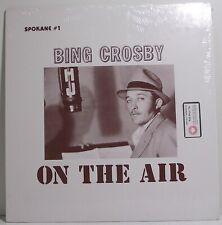 "BING CROSBY On The Air LP Album Canadian Release 12"" 33rpm Vinyl Excellent"